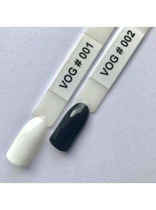 Гель лак VOG №001 белый, 12 мл.